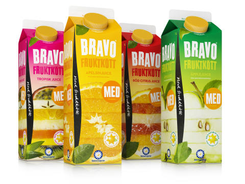 Bravo med fruktkött