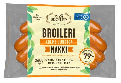 Aidot ja laadukkaat Jyväbroiler-uutuudet