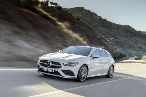 Nye CLA Shooting Brake: En praktisk coupe for designelskere