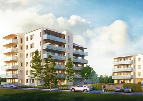 Försäljningen startad i brf Trosalundsberget – 72 nya bostadsrätter i Trosa