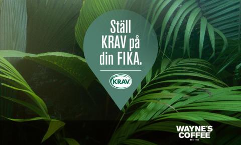 Fika KRAV-märkt på sommar semestern