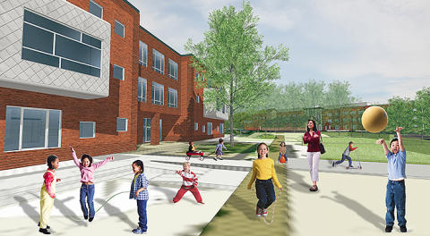 Nya förskolan i Limhamns Sjöstad