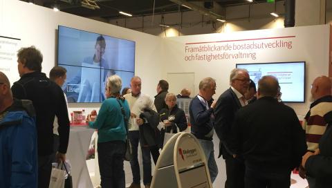 Träffa Riksbyggen på Sveriges största mötesplats för bostadsrättsföreningar i Göteborg