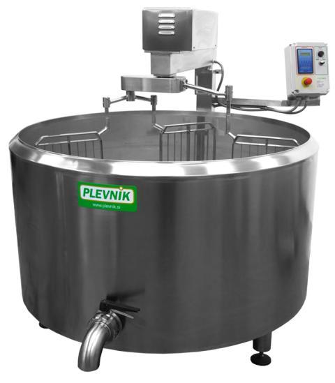 Plevnik cheese kettle SKH 500-100 EL ADV+