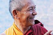 Den buddhistiske munken Pema