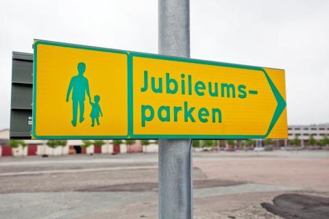 Anbudsinbjudan för gestaltning av Jubileumsparken