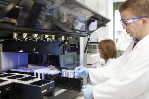 Forschung und Entwicklung in Ludwigshafen