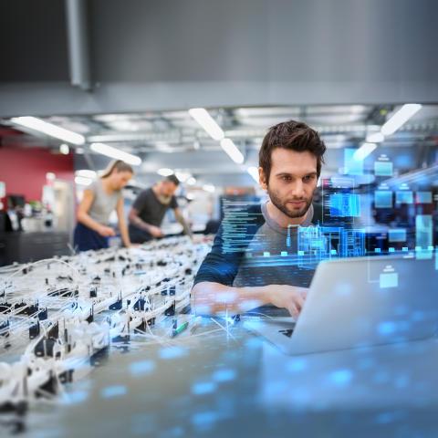Siemens banar väg för framtidens industri under årets Hannovermässa