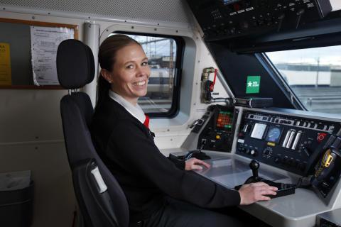 Jenny Norsten i hytt