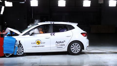 SEAT Ibiza - frontal offset impact test July 2017