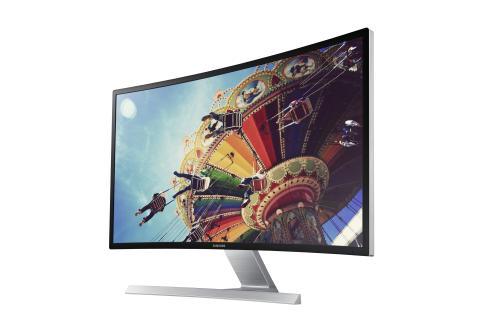 Bli omsluten av Samsungs nya Curved monitor
