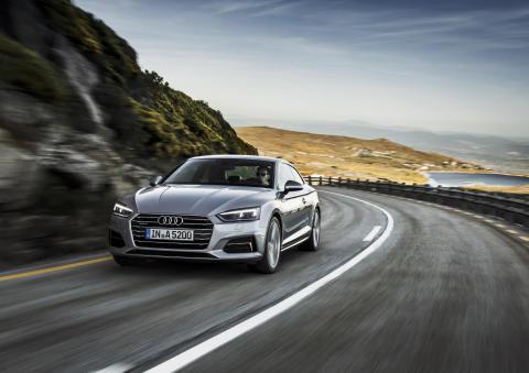 Audi A5 Coupé Florett Silver