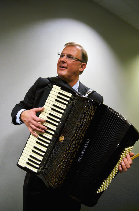 Jörgen Sundeqvist, accordeon