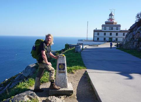 Extremwanderer Thorsten Hoyer versucht Weltrekord im Langstreckenwandern