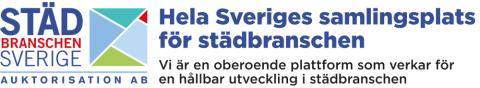Ny auktorisation stärker Städbranschen Sveriges kvalitetsarbete