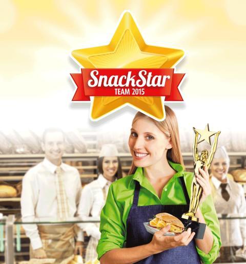 Bel Foodservice zeichnet die Bäckerei Armbruster mit dem SnackStar 2015 aus