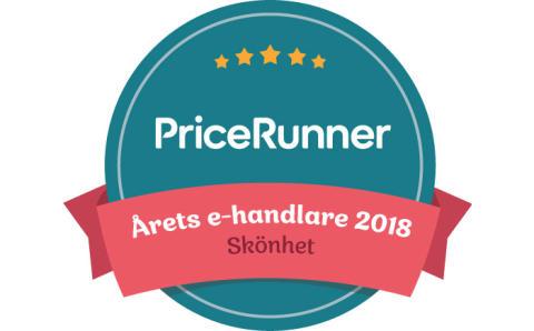 eleven vinner Pricerunner Årets E-handlare 2018 inom Skönhet