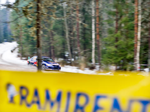 Ramirent officiell partner i Rally Sweden