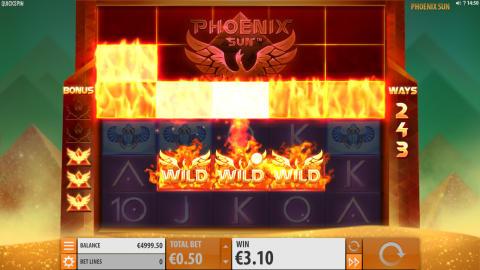 Phoenix Sun slottia