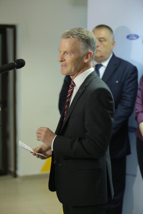 Ian Pearson - Ford Romania President