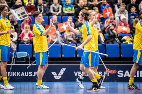 Urladdning av U19 - storseger mot Schweiz i EFT