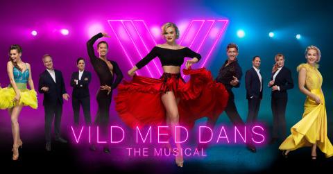 Den globale TV-succes Vild med dans får verdenspremiere som musical