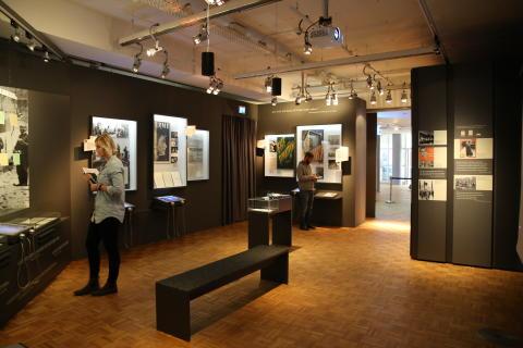Erster Ausstellungsaum
