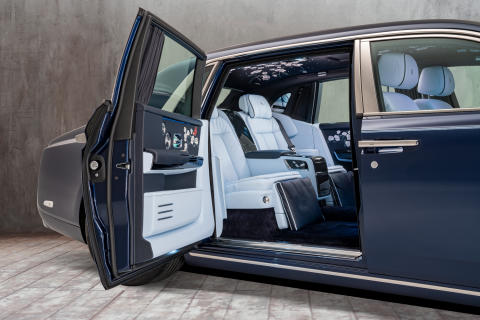 The Million Stitch Rolls-Royce Phantom