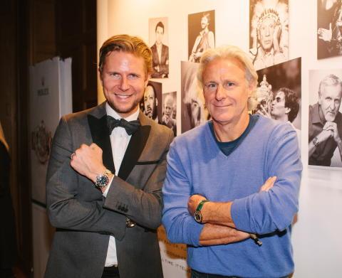 Björn Borg träder in i ambassadörskap med Rolex