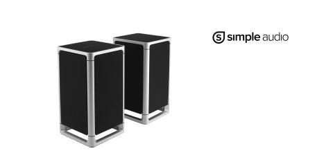 Simple Audio Listen - lydstærke, kompakte stereohøjttalere med Bluetooth