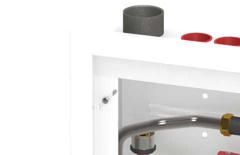 MultiSystem Prefab Flow - ram för gjuten vägg