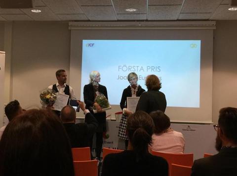 Vinnare i ICF Sweden Coachee Award