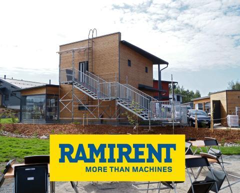 Ramirentin yhteistyökumppani NoppaKoti tarjoaa uudenlaista kompaktia asumista