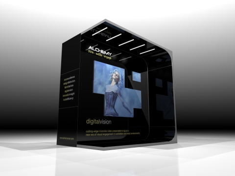 Digitally dynamic any-shape live screen displays are the centre of attraction for retail and expo environments.