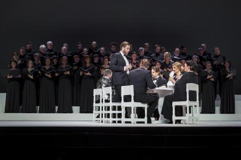 Eugen Onegin/ Daniel Johansson, Agneta Lundgren, Andreas Franzén, Merle Silmato, Katarina Leoson, Petter Mattei, NorrlandsOperans kör