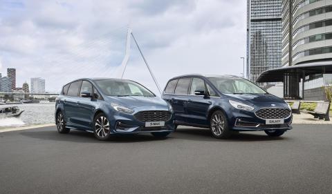 Ford på vej med S-MAX og Galaxy Hybrid