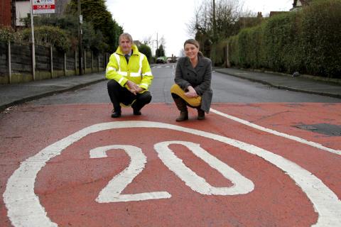 Safer streets on our estates