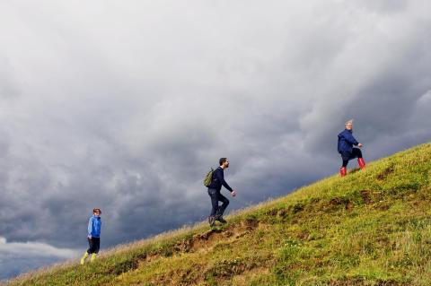 Vandring längs Skåneleden
