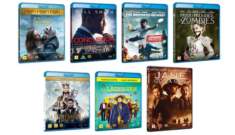 Nyheter på Blu-ray,  Blu-ray 3D, UHD & DVD i augusti från Universal Sony Pictures Home Entertainment