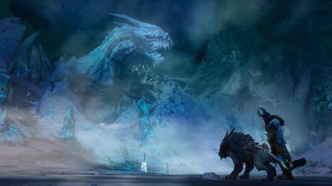 Guild Wars 2 - Living World Season 3 Dragon Structure