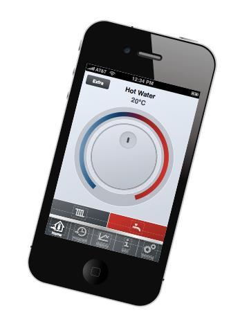 Ny app gör det möjligt att reglera värmen via mobilen