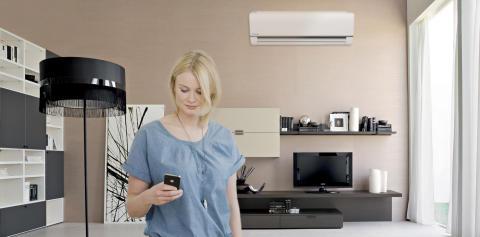 Nå kan du styre varmepumpen fra Panasonic med Verisure app