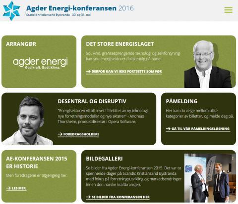 Agder Energi-konferansen 2016: Det store energislaget