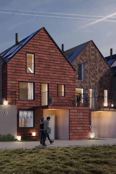 Ikano Bostad börjar bygga småhus