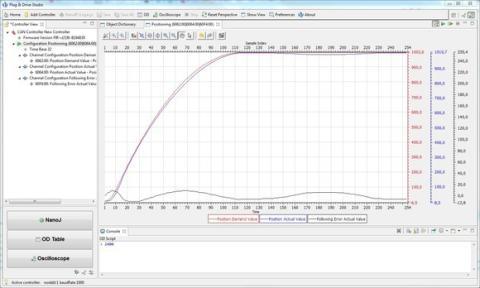 Easy programming with Plug & Drive Studio