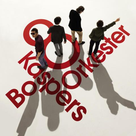 """Bo Kaspers Orkester albumomslag """"8"""""""