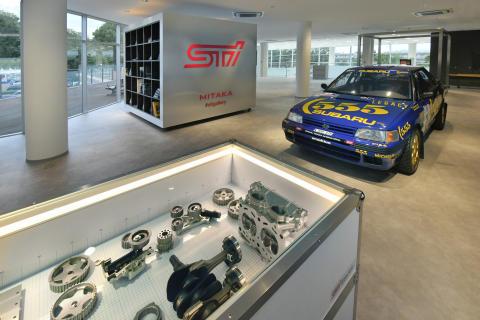 Subarun uudistunut STI Gallery avasi ovensa Tokiossa