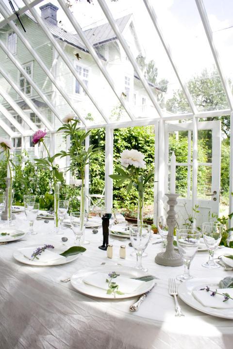 Privat växthus
