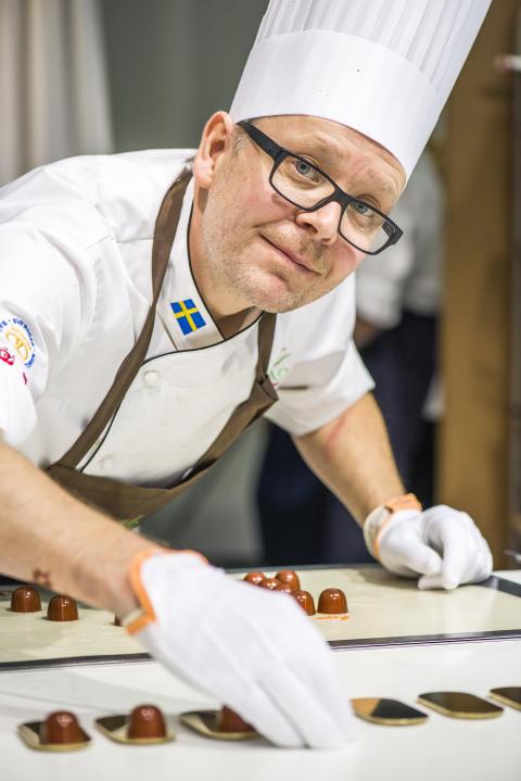 Honung naturlig vinnare när Anders Oskarsson blev Årets Konditor