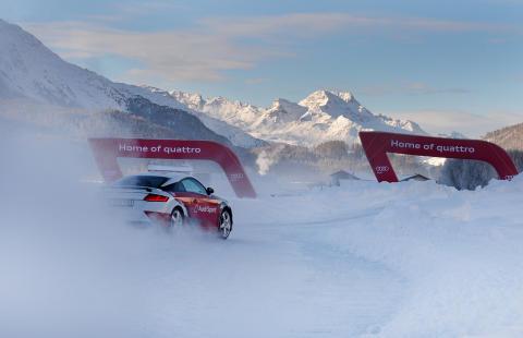 FIS Alpine World Ski Championships St Moritz 2017 Audi driving experience